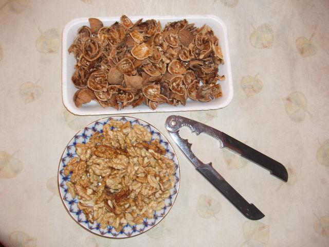 Как лущить грецкие орехи в домашних условиях - Золотой ангел