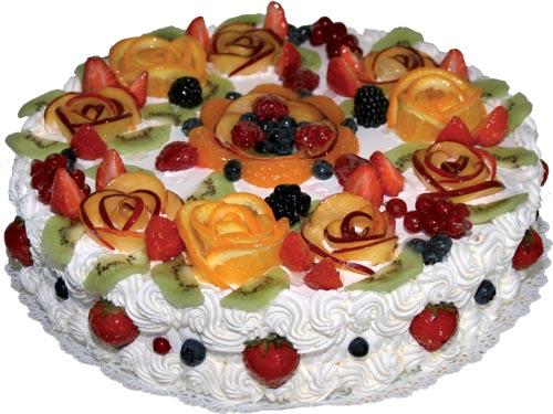 Конечно, проще заказать красивый торт в кондитерской.