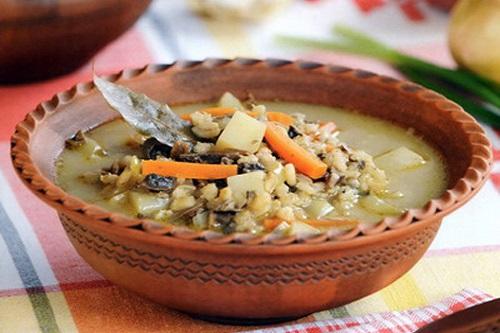 рецепты супов и каши для детей