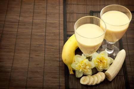 Как сделать дома банановый сок