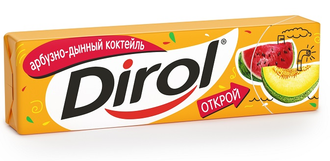 Dirol NEW 2013 Fruit MelonWatermelon