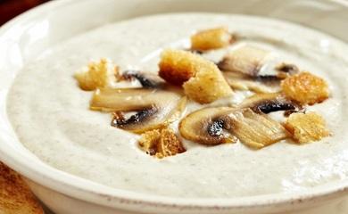 Блюда с белыми грибами