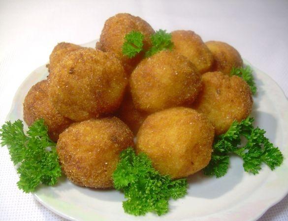 Картофельные крокеты с сыром рецепт с фото