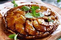 Пирог татен с ананасом